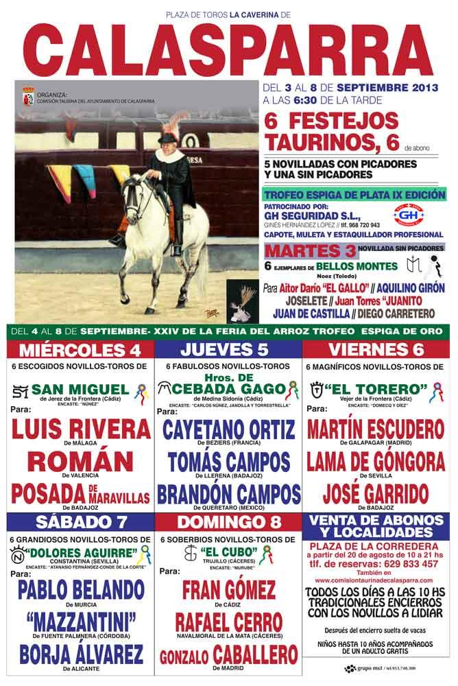 XXIV Feria Taurina del Arroz de Calasparra