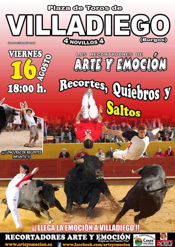 Arte y Emoción tomará las de Villadiego (Burgos) el viernes 16