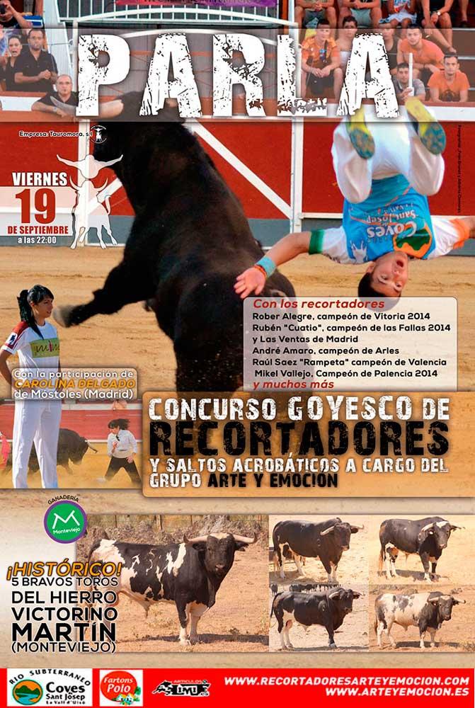 Los 'patas blancas' de Victorino Martín anunciados para el Concurso de Recortadores de Parla (Madrid)