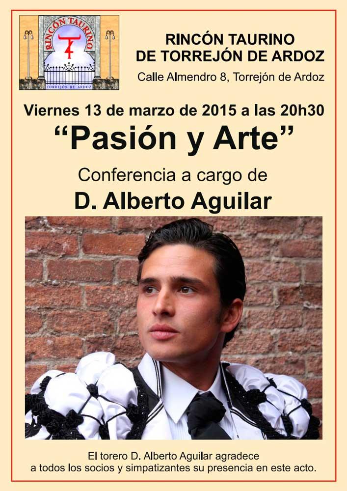 """Conferencia """"Pasión y Arte"""