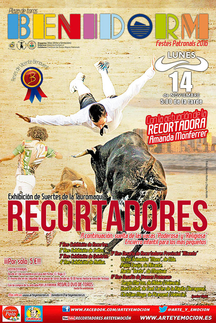 Fiestas Patronales de Benidorm 2016